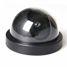 Flashing LED Security Dome Camera Motion Active LED Light Wireless Surveillance