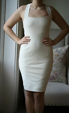 DONNA KARAN NEW YORK EGGSHELL DRESS US 6 UK 10