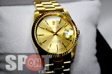 Sandoz Gold Tone Stainless Steel Automatic Men's Watch 8783D-34-8