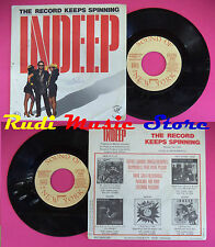 LP 45 7'' INDEEP The record keeps spinning 1983 france SOUND OF NEW no cd mc dvd