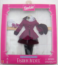 Barbie Internationale Fashion Avenue Mattel Fall Outfit Clothes 1996