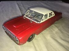 classic car Vintage Tin Toy Friction Ford Falcon Japan YONEZAWA & working wipers