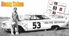CD_766 #53 Jimmy Helms  1963 Ford 1:32 Scale Decals   ~NEW~