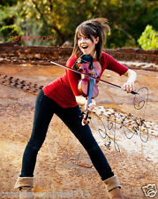 """Lindsey Stirling Reprint Signed 8x10"""" Photo #3 RP Electronic Dance Violinist"""