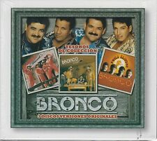 CD - Bronco NEW Tesoros De Coleccion 3 CD's UPC: 888837572828 FAST SHIPPING !