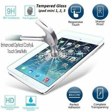 Real HD Premium Temper Glass Film Screen Protector For Apple iPad Mini 1/2/3