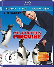 MR. POPPERS PINGUINE (Jim Carrey) Blu-ray Disc + DVD NEU+OVP