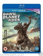 Dawn of the Planet of the Apes Blu-ray UV Copy New and Sealed UK Release R2