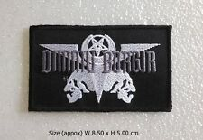 New Dimmu Borgir Patch Sew Iron On Black Metal Rock Band Music Embroidered DIY