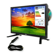 Camping TV 18,5 Inch TV Set HD LEDTV with DVD, HD Triple Tuner DVB-S2/T2/C