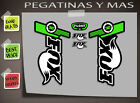 PEGATINAS FOX FORX FLOAT 32 FDP12 AUTOCOLLANT DECAL ADESIVI HORQUILLA BIKE CYCLE