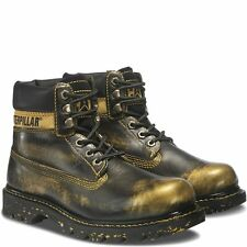 "CAT COLORADO 6"" BOOT Womens SHOES SIZE 9 CATERPILLAR GOLD NEW IN BOX"