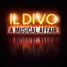 IL DIVO -A MUSICAL AFFAIR CD ALBUM (2013)