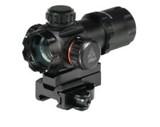 "Leapers 3.9"" ITA Red/Green Dot Sight with 2 Mount Decks and Flip-open Lens Caps"