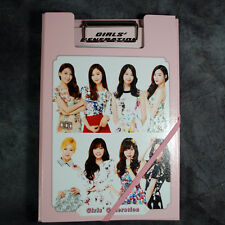 K-POP SNSD Girls' Generation Photo Clipband File & Monthly Planner Memo12sheets