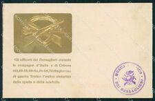 Militari Campagne D'Italia Crimea Bersaglieri cartolina XF1401