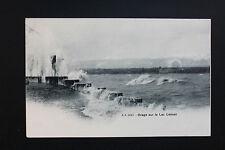 Carte postale ancienne CPA Orage sur le Lac Léman