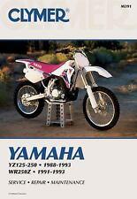 1988 1989 1990 1991 92 1993 Yamaha YZ125 YZ250 YZ250WR WR250Z Repair Manual M391