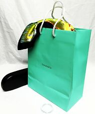 TIFFANY & Co Paper Gift Shopping Hand Bag 8x10x4 Jewelry Watch Scarf Book Glass