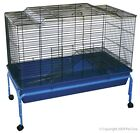 Rabbit Guinea Pig Cage and Stand 101 x 51 x 90cm High hutch
