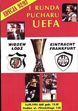 UEFA - EC III 92/93 Widzew Lodz - Eintracht Frankfurt, 16.09.1992