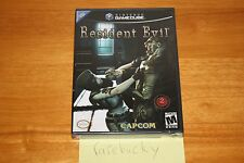 Resident Evil REmake (Gamecube) NEW SEALED BLACK LABEL, MINT, RARE!