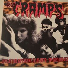 THE CRAMPS - LIVE AT THE KEYSTONE CLUB 1979 - 2015 LTD. EDITION LP VINYL