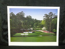 Danny Day Hole #12 at Augusta Masters Limited Edition Golf Lithograph #472/900