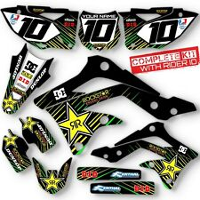 2013 2014 2015 KXF 450 GRAPHICS KIT KAWASAKI KX450F MOTOCROSS DIRT BIKE DECALS