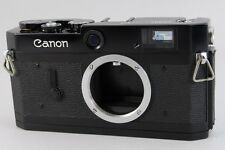【B V.Good】 Canon P Black Repaint Rangefinder 35mm Film Camera From JAPAN #2231