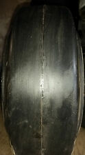 (2-Tires) 10x4x6-1/2 Super Solid forklift press-on smooth tire USA Made 1046
