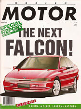 Modern May 90 Falcon BMW Alpina B11 C2 Porsche 911 Carrea 4 Renault 24 V6i 929