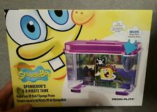 Penn Plax SBK105 3-D SpongeBob Pirate Aquarium fish tank