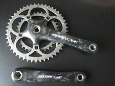 Campagnolo Record 10 Speed CT Compact Crankset 48/34 Campy 175 used GC
