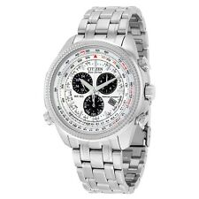 New Citizen Eco-Drive Men's BL5400-52A Perpetual Calendar Chronograph Watch