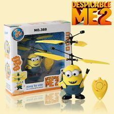 Despicable Me Film Figura Flying Minion Telecomando Elicottero Toys