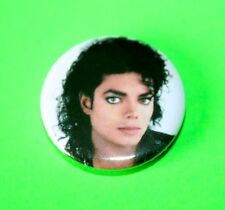 1908s VINTAGE STYLE MICHAEL JACKSON BUTTON PIN BADGE