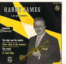 HARRY JAMES - THE HIGH AND THE MIGHTY - THREE COINS IN THE FOUNTAIN - VG/VG--