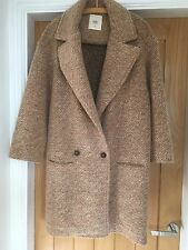 Zara Spring Jacket Coat Size M tweed type 15% mohair 55% wool 30%polyester