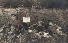 21562/ Originalfoto 13x9cm, Soldaten Armierungs-Batallion 70, 1916