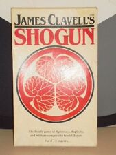 Vintage 1983 James Clavell's SHOGUN Military Conquest Japan Game Board Toy