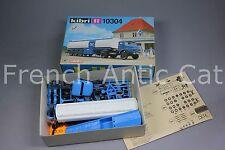 U659 KIBRI maquette diorama Ho 10304 camion mercedes citerne ARAL wackenhut