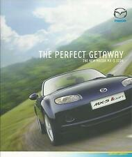 Mazda MX5 Icon Special Edition UK Market Brochure 2007 20 Pages Mint Condition