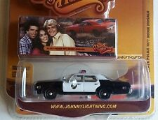 Dukes of Hazzard State Police 1977 Dodge Monaco Johnny Lightning Limited Edition