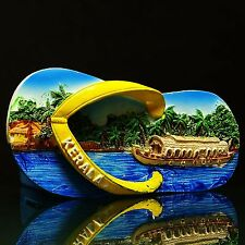 Kerala Sceneries Poly Marble Kitchen Fridge Magnet Indian Decorr Collectib 9508