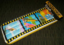 VINTAGE KODAK INFLATABLE SWIMMING POOL FLOAT w/ 35mm FILM ROLL HEADREST NEW NIB