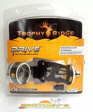 Trophy Ridge - Drive 1 Pin Adjustable Sight - R&L hand - AS301