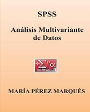 SPSS. Analisis Multivariante de Datos by Maria Marques (2013, Paperback)