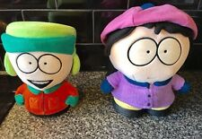 South Park Rare WENDY And KYLE Soft Plush Collectable Toys Vintage 1998 FREE P&P