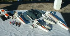Viper,Cylon Raider,Stellar Probe,Figures,Scarab Vintage Battlestar Galactica LOT